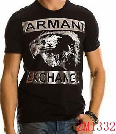 cc47aae8178 camiseta armani exchange azul